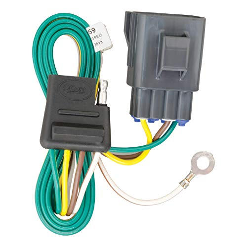 CURT 56159 Vehicle-Side Custom 4-Pin Trailer Wiring Harness for Select Land Rover Evoque