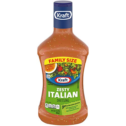 Kraft Zesty Italian Dressing (24 oz Bottle)