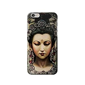"Guan Yin 4.7 inches Iphone 6 Case,fashion design image custom iPhone 6 4.7 inches case,durable iphone 6 hard 3D case cover for iphone 6 4.7"", iPhone 6 Full Wrap Case"