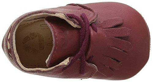 Easy Peasy Mexip - Zapatillas de casa Bebé-Niños Rojo - Rot (024 Marsala)
