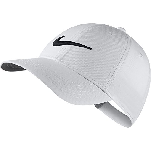 NIKE Kid's Unisex Core Golf Cap, White/Anthracite/Black, One Size