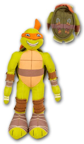 Michelangelo 20cm Peluche Pañuelo Naranja Mascara Las ...