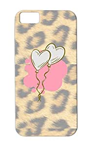 Shock-absorbent Holidays Occasions I Love You Valentines Day Valentine's Day TPU Pink Cover Case For Iphone 5c