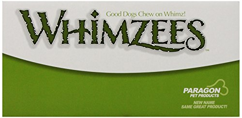 Paragon Whimzees Alligator Dental Chews in Bulk Display, Large 4 lbs (Monster Mouth)