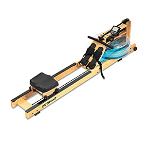 Well-Being-Matters 41t5Czi8HOL._SS300_ Max4out Water Rowing Machine, Ash Wood Water Rower with LCD Monitor Row Machine for Home Fitness Workout