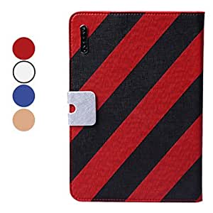 Bkjhkjy Solid Color PU Leather Full Body Case with Stand and Card Slot for iPad mini (Assorted Colors) , Blue