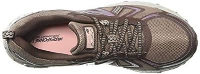 New Balance Women's 410v5 Cushioning Trail Running Shoe Latte/Macchiatto/Himalayan Pink 6 D US