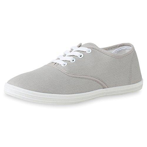 Damen Low Bequem Sneaker Grau SCARPE VITA 5qxanwTRRS