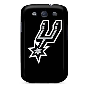 Ultra Slim Fit Hard SpecialUandMe Case Cover Specially Made For Galaxy S3- Nba San Antonio Spurs 3
