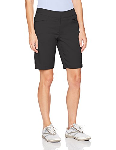 PGA TOUR Women's Plus Size Motionflux 19'' Tech Short with Comfort Stretch, Caviar, 2 by PGA TOUR