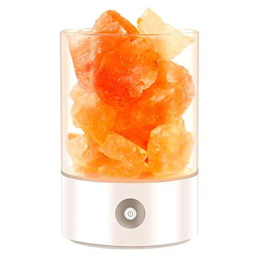 AXDZ vvsismum 2019 Update Lava Lamp Volcanic Himalayan Crystal Salts Natural Air Purifier Salt Lamp Himalayan Bulbs Night Light