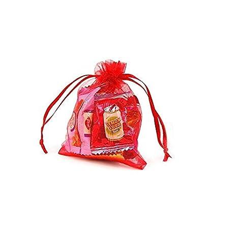 Heelinna - 50 bolsas de organza para regalo de boda con ...