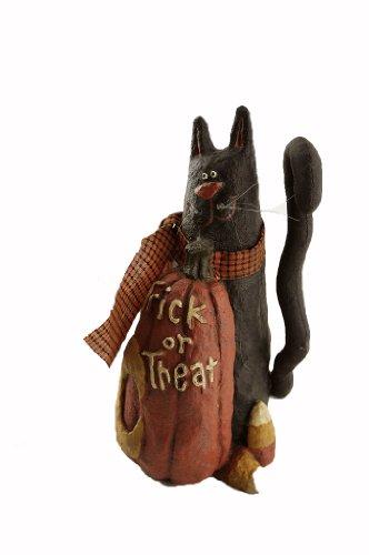 craft-outlet-papier-mache-pumpkin-with-cat-figurine-725-inch