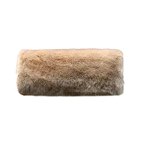 Wed2BB Faux Fur Hand Muffs Women Warm Faux Fur Muffs Khaki (Hand Women Warmer)