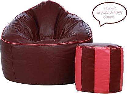 Remarkable Funkky Combo Xxxl Sofa Mudda Genuine 35 Inch Bean Bag Cover Uwap Interior Chair Design Uwaporg