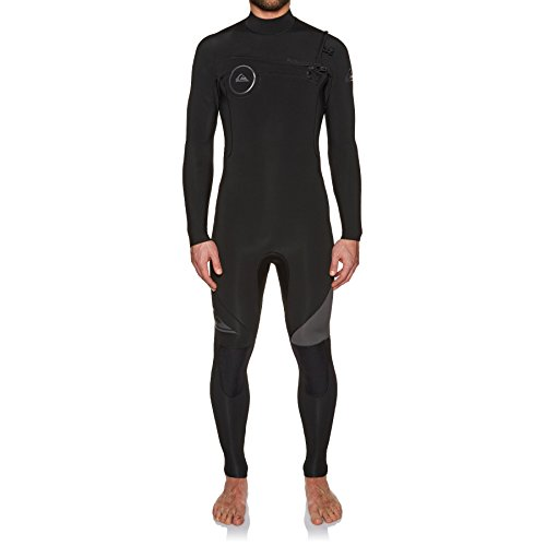 Quicksilver 3mm Syncro black Zip Chest Jet Series 4 Black 2018 Eqyw103042 Gbs Wetsuit x4qId4n