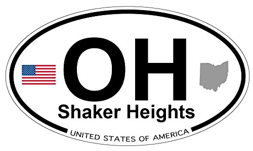 (Shaker Heights, Ohio Oval Magnet)