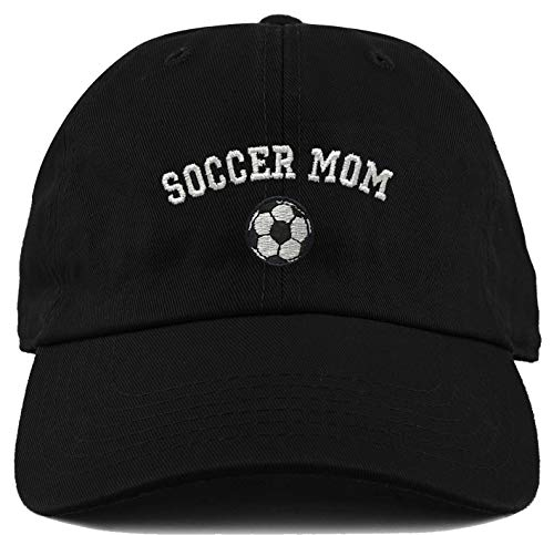 H-214-SMOM06 Dad Hat Unconstructed Low Profile Sports Baseball Cap - Soccer Mom -