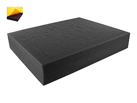 FS100RS-Bundle 100 mm customizable Pick Pluck Foam for all kind of using self-adhesive with separate bottom 4 Inch