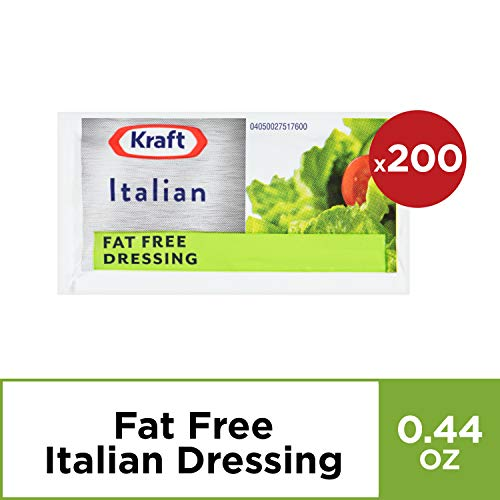 Kraft Italian Dressing Fat Free (16 oz Bottles, Pack of 200)