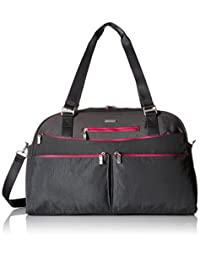 Baggallini Weekender Travel Tote Bag, Charcoal, One Size