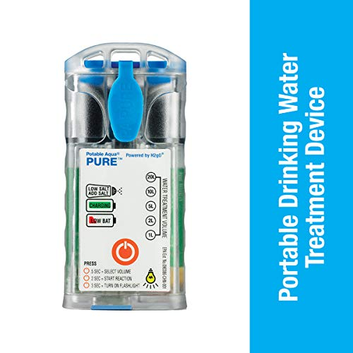 Potable Aqua Pure Portable Electrolytic Water Purifier Device (World Best Water Purifier)