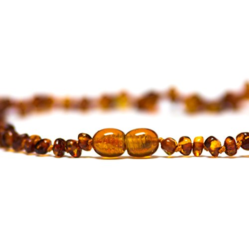 The Art of Cure Baltic Amber Teething Necklace (Honey)