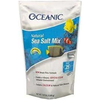 Oceanic 81090 Natural Sea Salt Mix, 125-Gallon Bucket