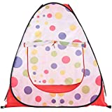 Foldable Four Sided Tent Ocean Ball Pool Indoor/Outdoor Play Tent Toys For Children