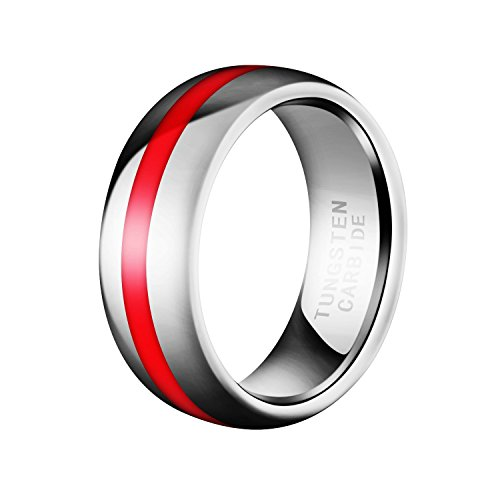 Domed Tungsten Carbide Fashion Weddings product image