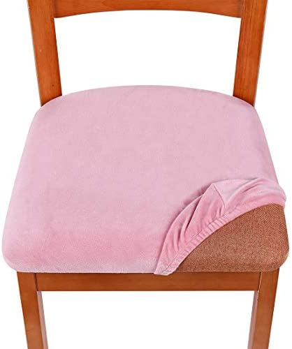 home, kitchen, home décor, slipcovers,  dining chair slipcovers 1 discount smiry Original Velvet Dining Chair Seat Covers, Stretch in USA