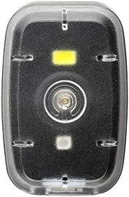 Farol Multilaser Clip com Luz Dianteiro 20L e Traseiro 2L 250 mAh USB Preto - BI187, Atrio, Padrão