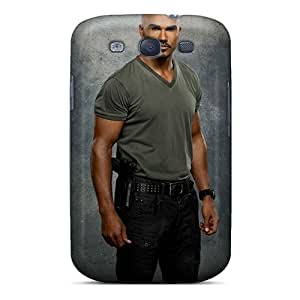 Galaxy S3 Case Cover Skin : Premium High Quality Shemar Moore Celebrity Case