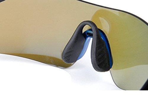 D Ciclismo Gafas De Adulto Talla Deportes Ligero Sol Única Unisex Gafas Windsurfing De Súper Zwg66q