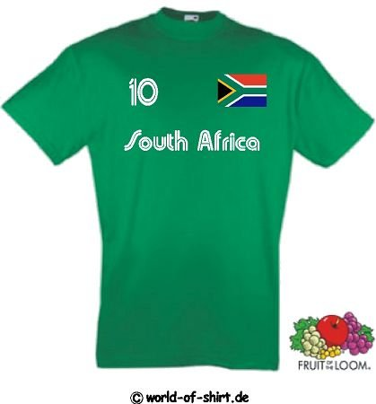 S/üdafrika South Africa Polo-Shirt Trikot Wunschname Wunschnummer