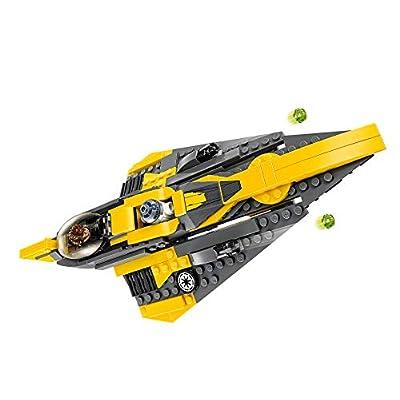 LEGO Anakin's Jedi Starfighter Star Wars: Toys & Games