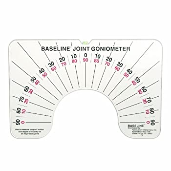 Baseline 12-1076 Large Joint Goniometer, Two 180 Degree Opposing Scales
