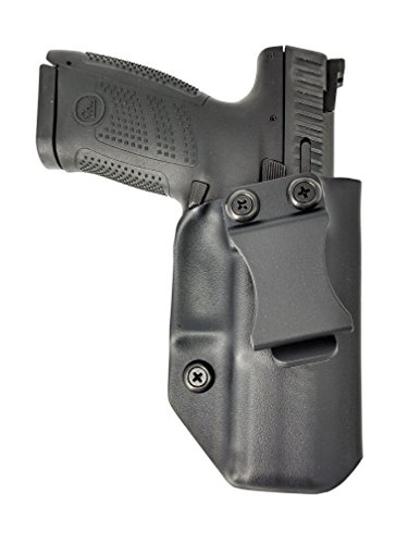 Sunsmith Holster - Compatible with CZ P-10 C Kydex IWB Concealed Carry Holster Made in USA by Fast Draw USA (Black - Right Hand)