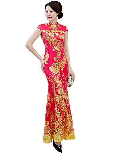 Rosy Donna Fasciante Vestito Drasawee Red HaqwZzq4