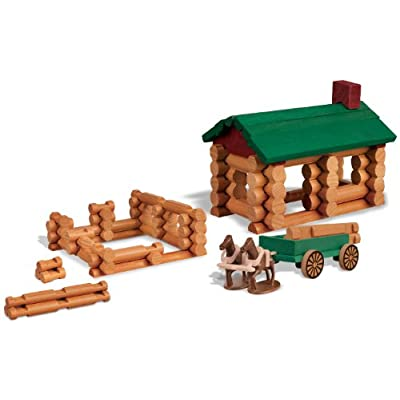 K'nex Lincoln-Logs Collector's Edition Homestead Building Set: Toys & Games