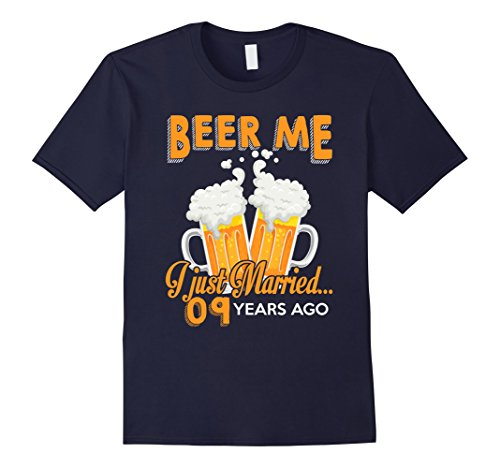 Mens Anniversary Gift 9th-9 Years Wedding Celebration Gift 2XL Navy