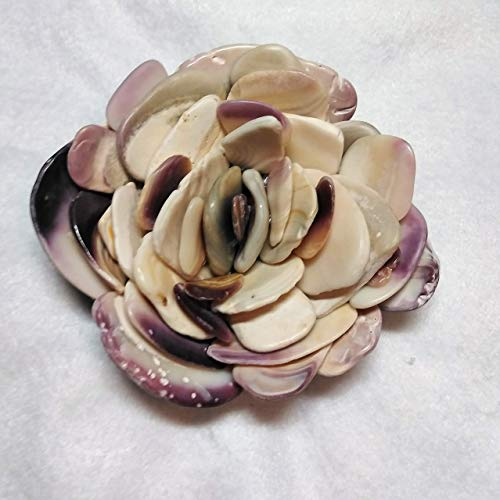 Seashell Flower | Paperweight | Wampum | Quahog shells for sale  Delivered anywhere in USA
