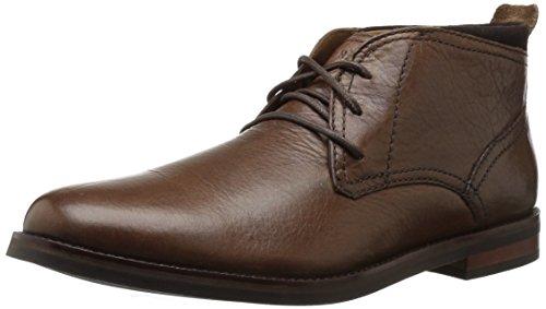 Cole Haan Men's Ogden Stitch Chukka II Boot, Dark Brown Grain, 12 Medium US