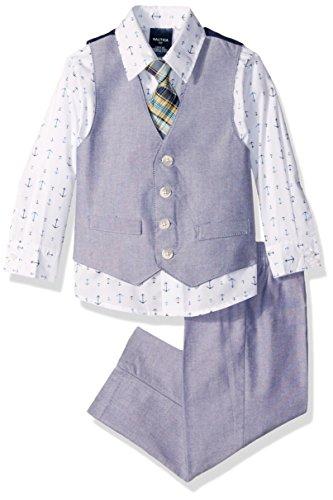 Nautica Little Boys Chambray Vest