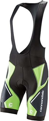 Cannondale 5M229 Performance 2 BIB Shorts Printed (Medium, -