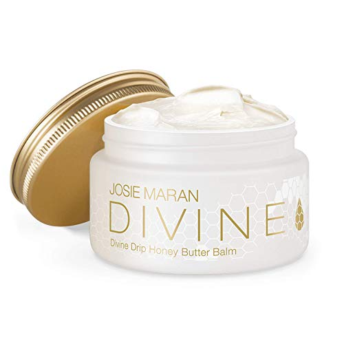 Butter Drip - Josie Maran Divine Drip Honey Butter Balm - Seal in Moisture With a Protective Barrier From Whipped Argan Oil and Honey (142g/5oz) - Pure Honey