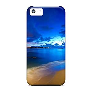 Series Skin Case Cover For Iphone 5c(saint Jean De Luz Beach)