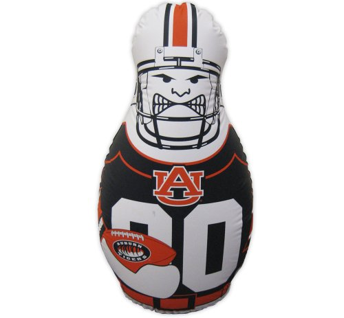 NCAA Tackle Buddy Inflatable Punching Bag, 40-Inch Tall