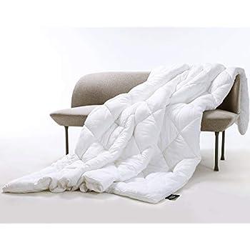 Queen Comforter All-Season - 100% Eucalyptus Fabric - Alternative Down Duvet - Organic Fluffy Cloud Cooling - Hypoallergenic Breathable Blanket Lightweight Temperature-Regulating (Queen, White)