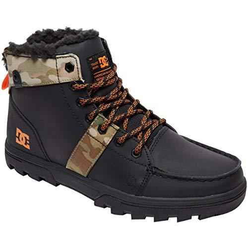 DC Men's Woodland Fashion Boot, Black/Multi, 10 Medium US
